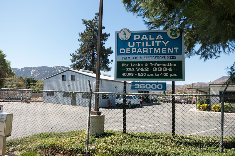 Pala Band Utility Department California