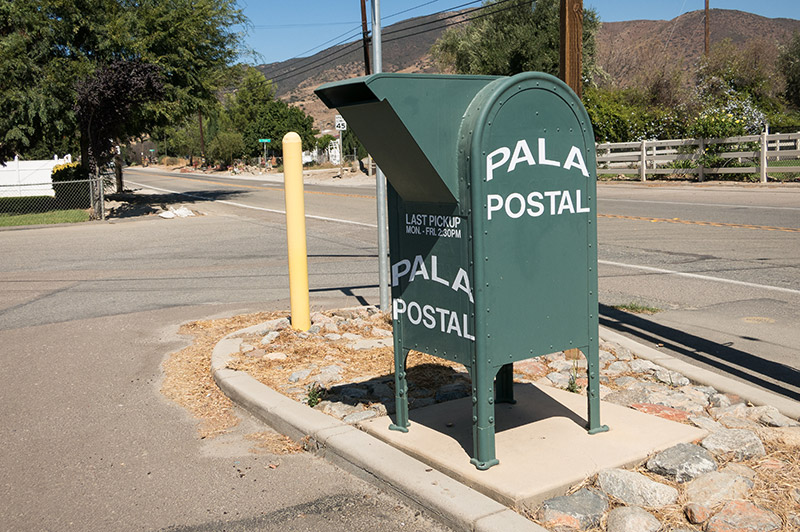 Pala Post Office California