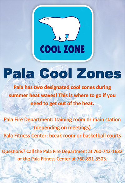 Pala Cool Zones