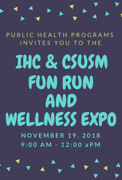 Pala Band IHC CSUSM Fun Run Wellness Expo