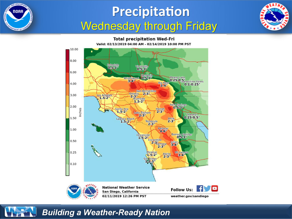 Pala Band of Mission Indians NOAA NWS Weather Alert