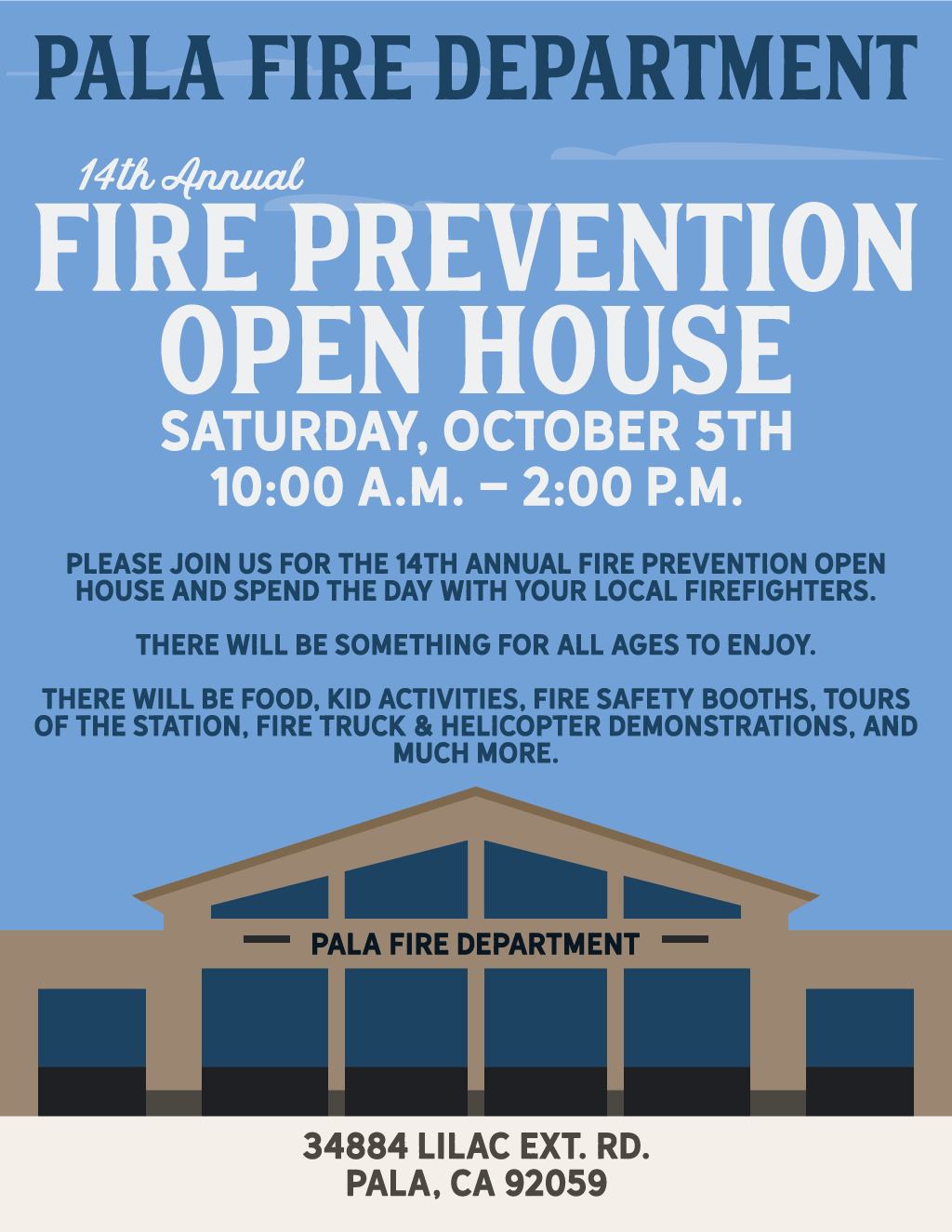 Pala Band of Mission Indians Pala Fire Department Fire Prevention Open House