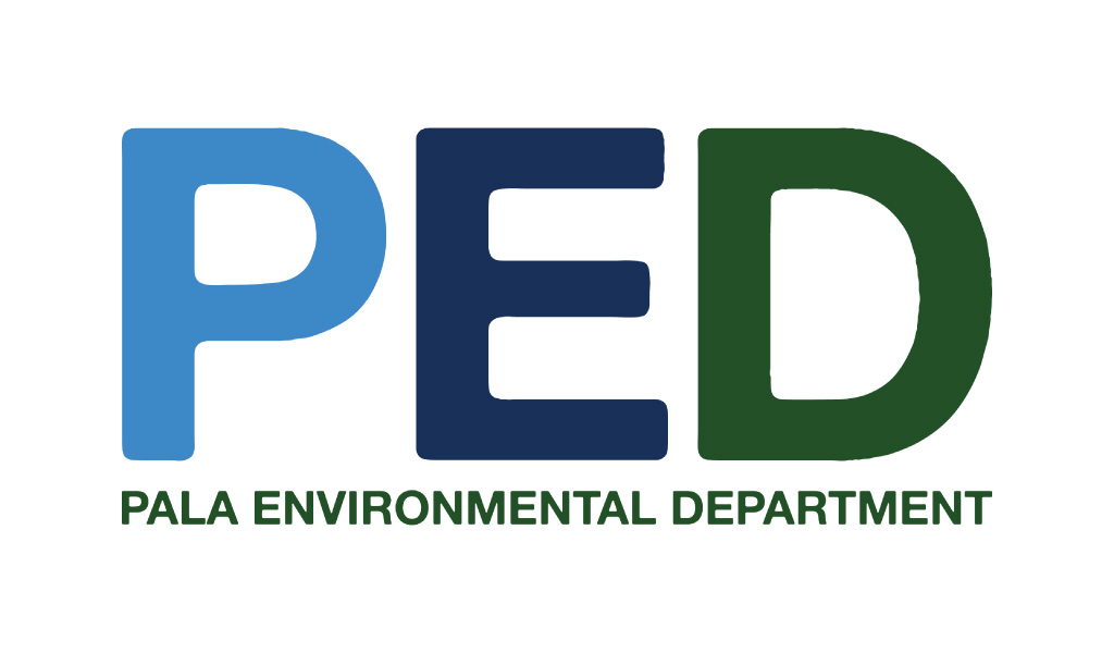 Pala Band of Mission Indians PBMI Pala Environmental Department Logo