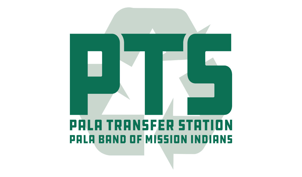 Pala Band of Mission Indians PBMI Pala Transfer Station Logo