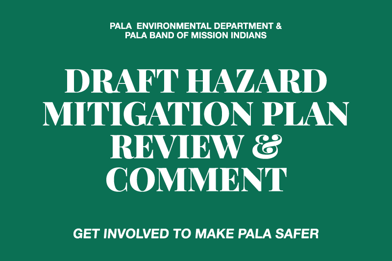 Pala Band of Mission Indians Pala Environmental Department Hazard Mitigation Plan
